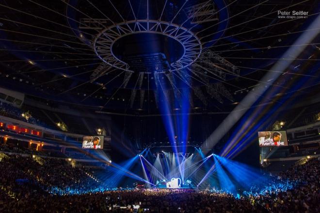 Bruno mars praha 2013 - o2 arena