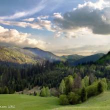 Západ slnka nad Osrbliankou