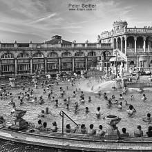 Szechenyi bath Budapešť